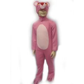 abito carnevale bambina costume Pantera Rosa