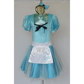 Carnival adult dress Alice in Wonderland