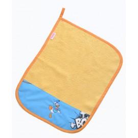 asciugamano set asilo cotone spugna disney paperino