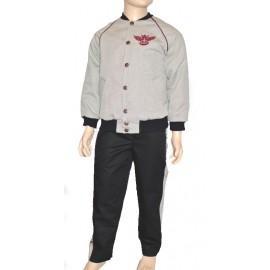 bomber bambino trapuntato pantalone completo
