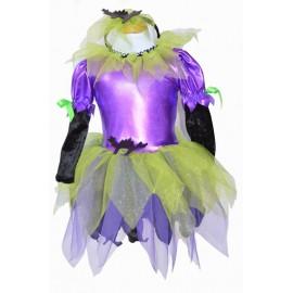 Halloween child costume Little Witch Black Cat