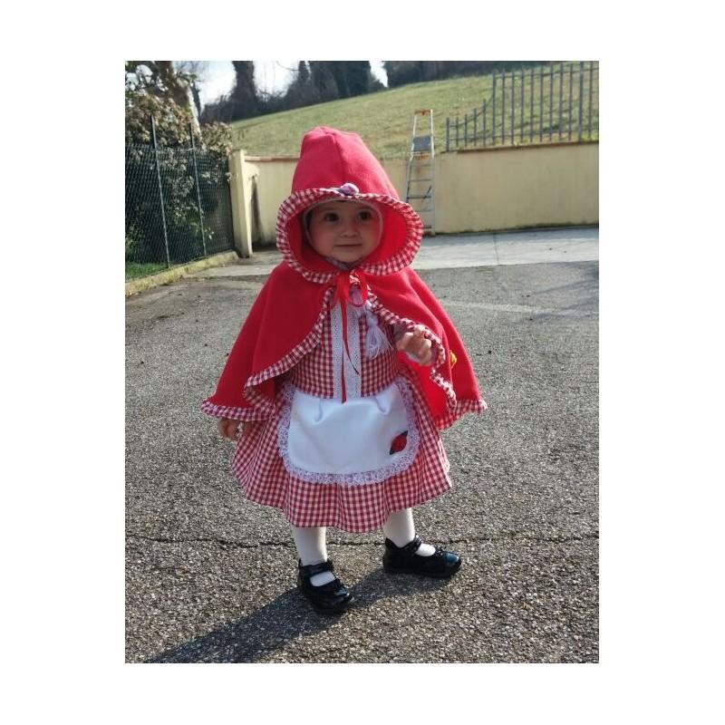 abiti Vestito Eleganti cappuccetto modelli anni carnevale 3 di rosso PkXiOuZ