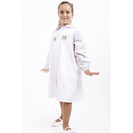 grembiule scuola bambina femmina 100% puro cotone