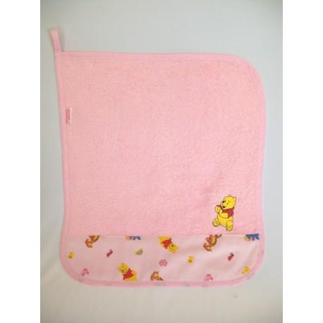 set asilo 100% puro cotone asciugaman
