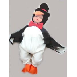 abito carnevale bambina costume pinguino