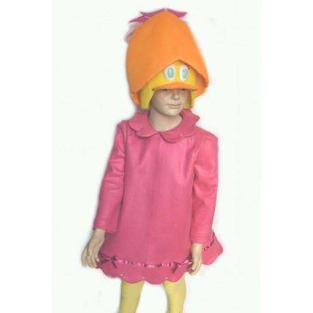 abito carnevale bambina costume priscilla