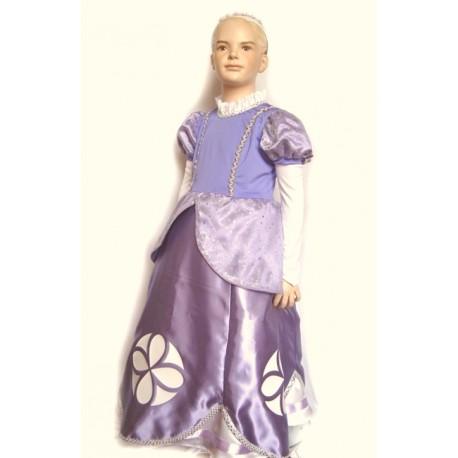abito carnevale bambina costume principessa sofia