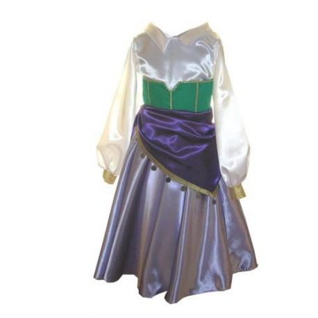 abito carnevale bambina costume esmeralda gobbo di notredame