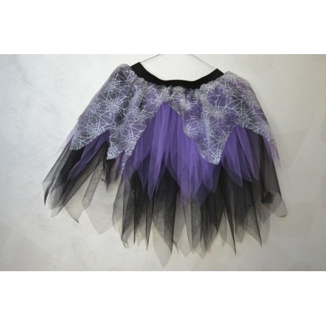abito carnevale bambina costume halloween gonna in tulle