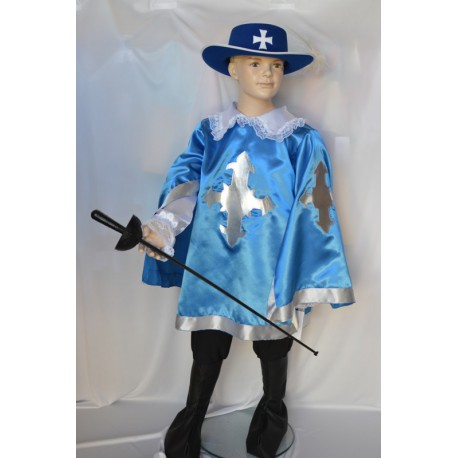 carnival dress child d'artagnan musketeer
