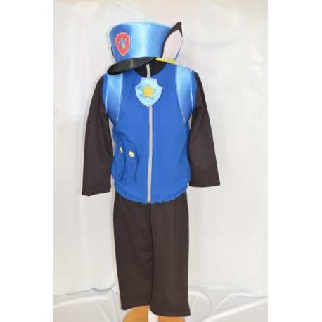dress carnival child chase paw patrol