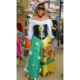Carnival adult dress costume Four seasons