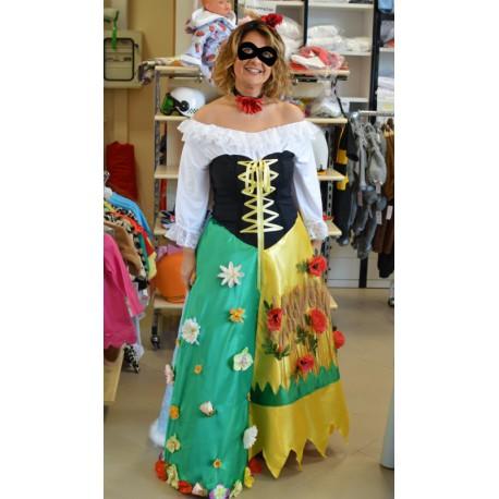 Carnival adult dress costume Four seasons