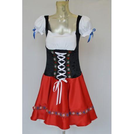 abito carnevale costume bavarese tirolese dirndl oktoberfest october fest