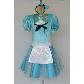 Carnival adult dress Alice in Wonderland