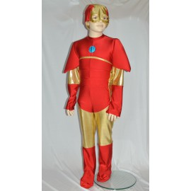 Ironman disguise baby carnival dress