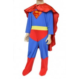 dress carnival child superman