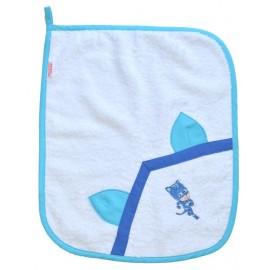 set asilo bavaglino asciugamano sacchetto portabavaglino cotone gattoboy