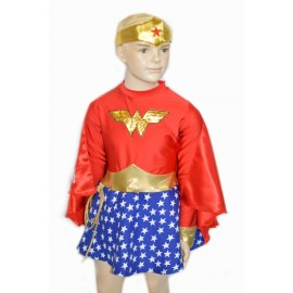 Costume bimba Wonder Woman