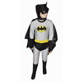 abito carnevale bambino costume batman