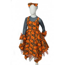 Pumpkin Carnival child dress halloween