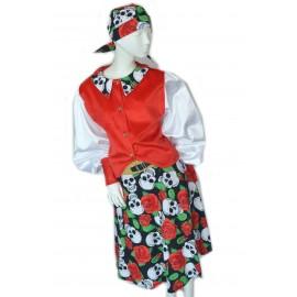 carnival child dress halloween corsair costume