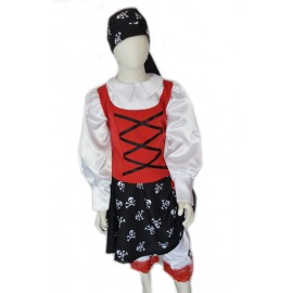 pirate lady Carnival child dress halloween