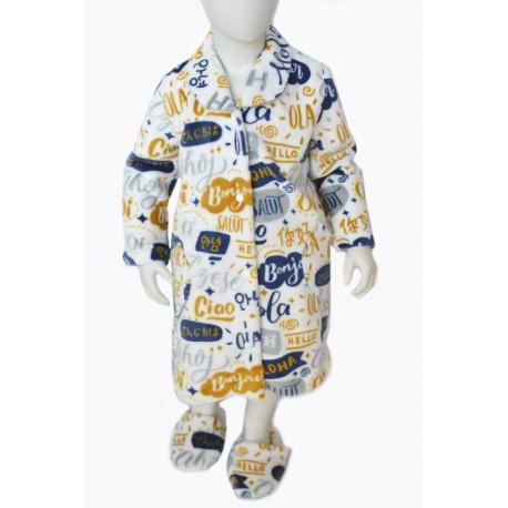 night robe girl boy