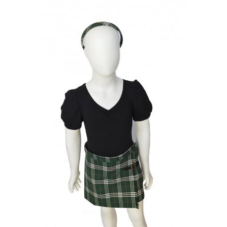 trouser skirt girl