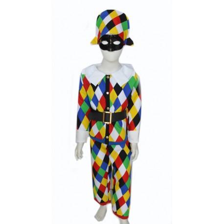 carnival dress child harlequin