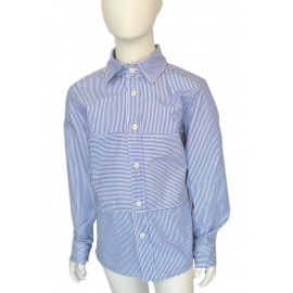 Stripes straight fit shirt