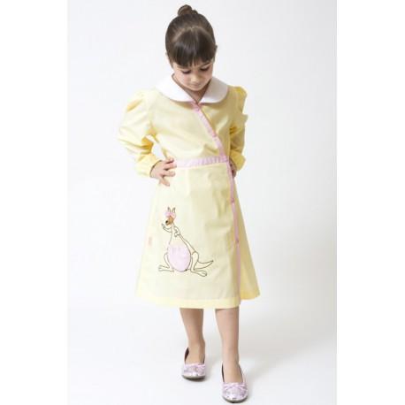 100% pure cotton child female nursery apron