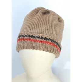 Cappello lana beige bambino