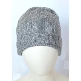 Cappello lana grigio bambino