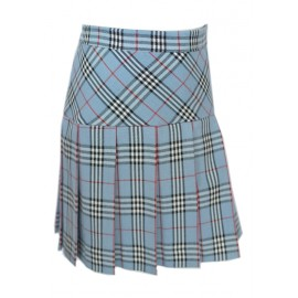 Girl light blue Pleated Skirt