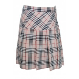 Girl Pink Pleated Skirt