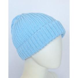 Cappello lana celeste bambino