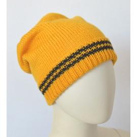 Cappello lana giallo bambino