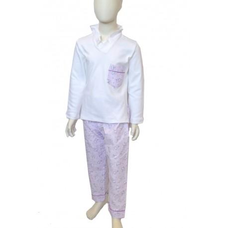 violet dog pajamas