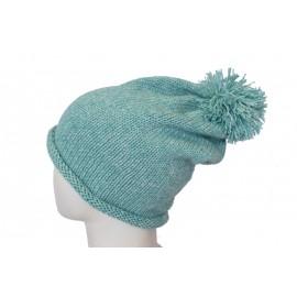 Cappello lana verde bambino
