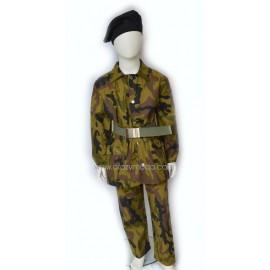 Costume bimbo Militare