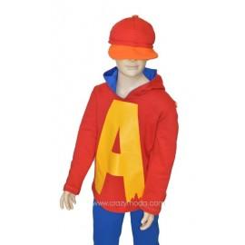 Costume bimbo Alvin
