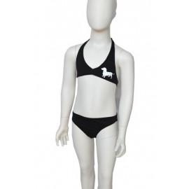 dashshund girl bikini