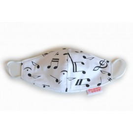 Musical Notes mask
