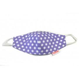 Lilac dots mask