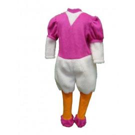abito carnevale bambina costume paperina