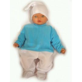 abito carnevale bambina costume puffo