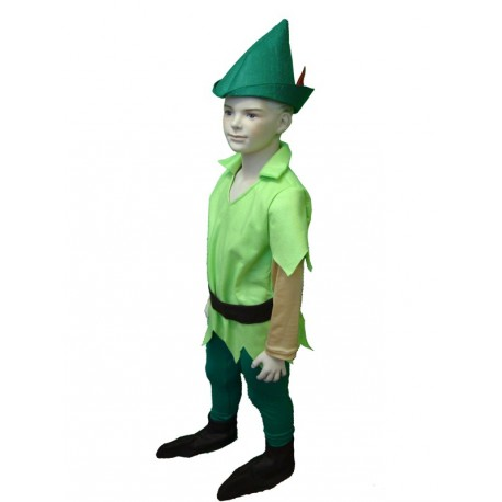 dress carnival child peter pan